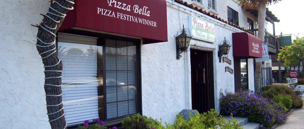 Pizza Bella Entrance